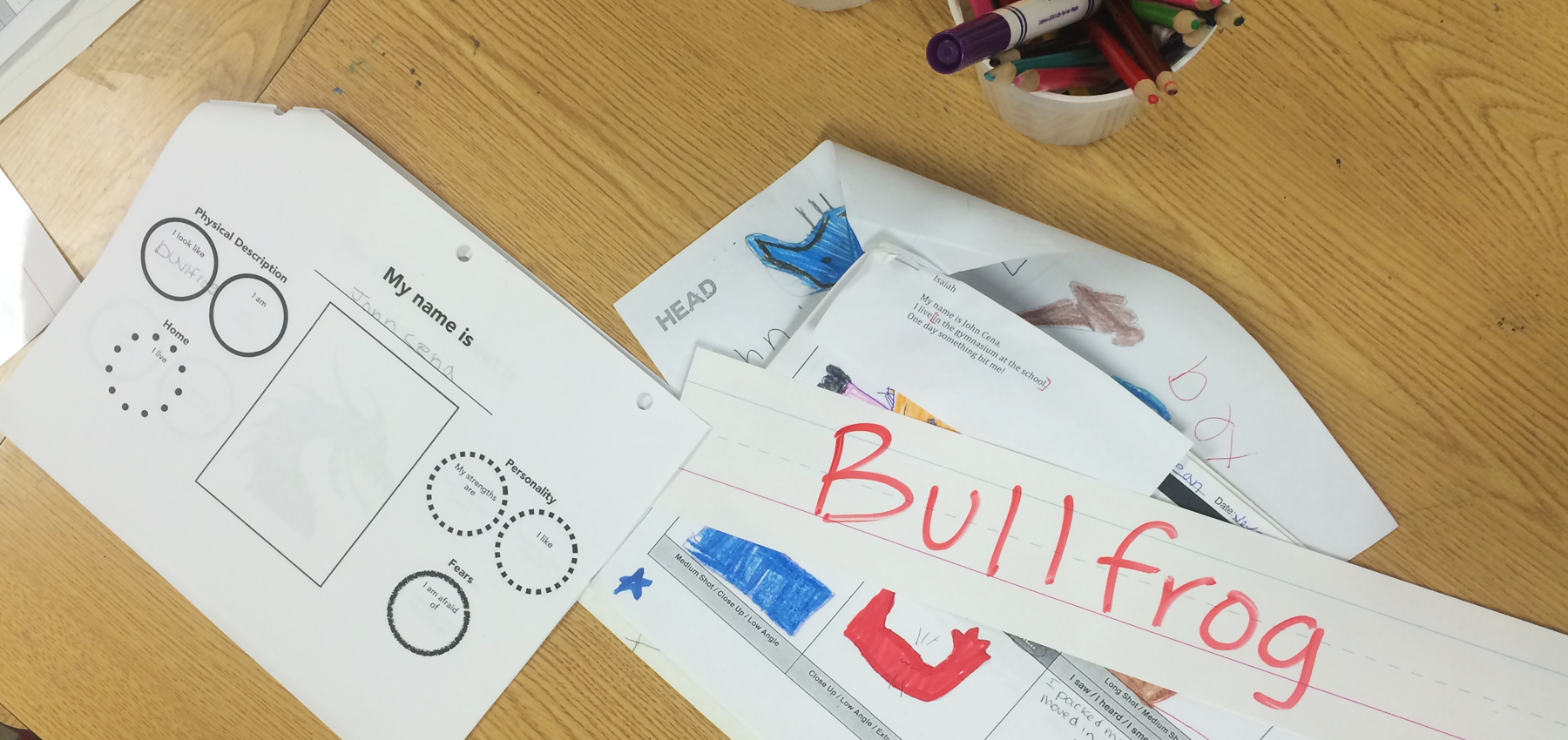 Paper-based story materials